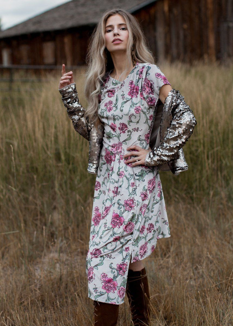 Marli Dress in Baroque Floral