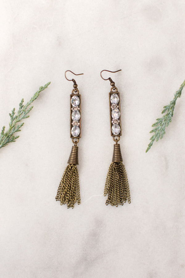 Nylah Tassel Earrings