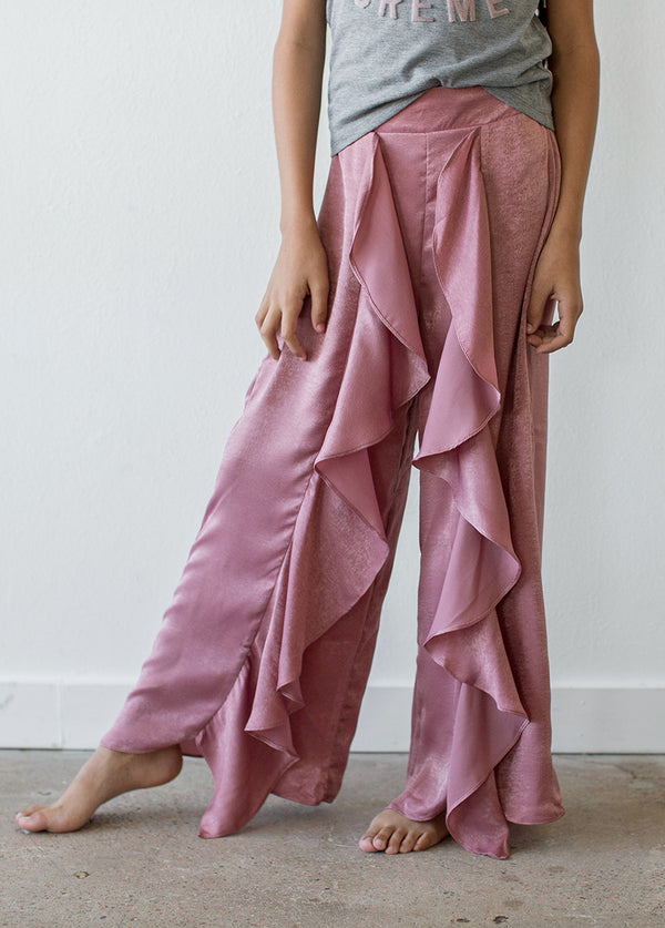 *NEW* Nicolette Pajama Pant in Mauve Rose