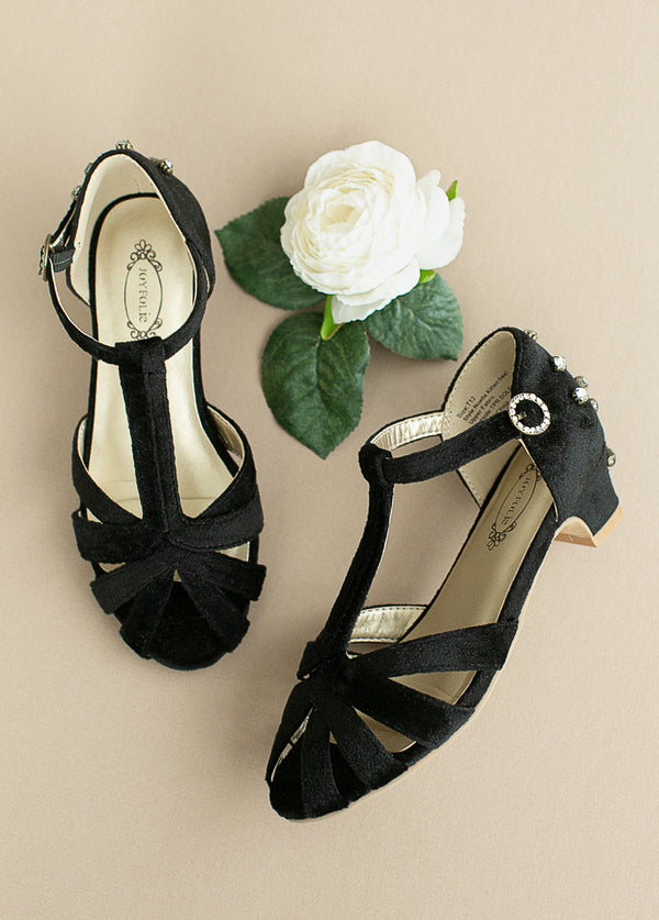 *NEW* Noelle Kitten Heel in Black