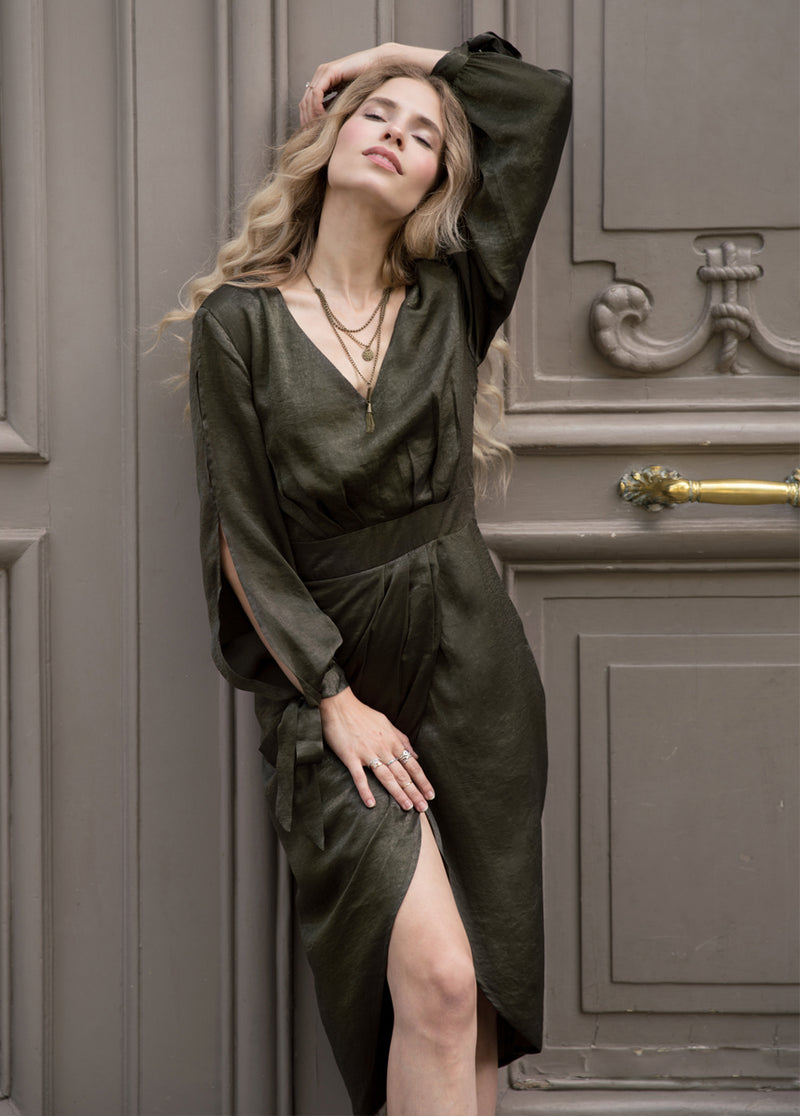 *NEW* Marcella Dress in Olive