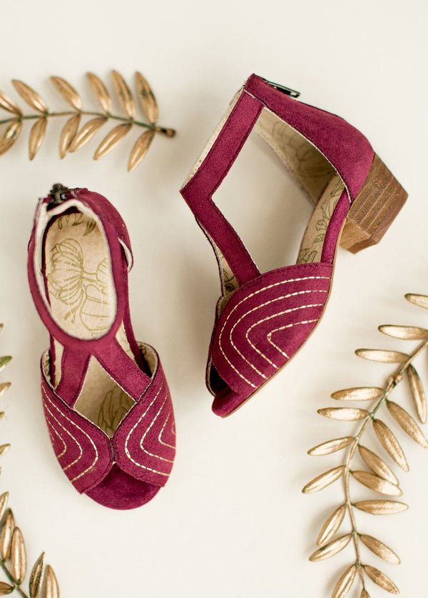 Orelia Shoe in Amaranth