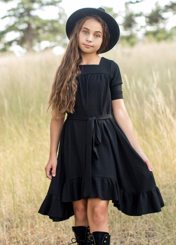 *NEW* Penelope Dress in Black