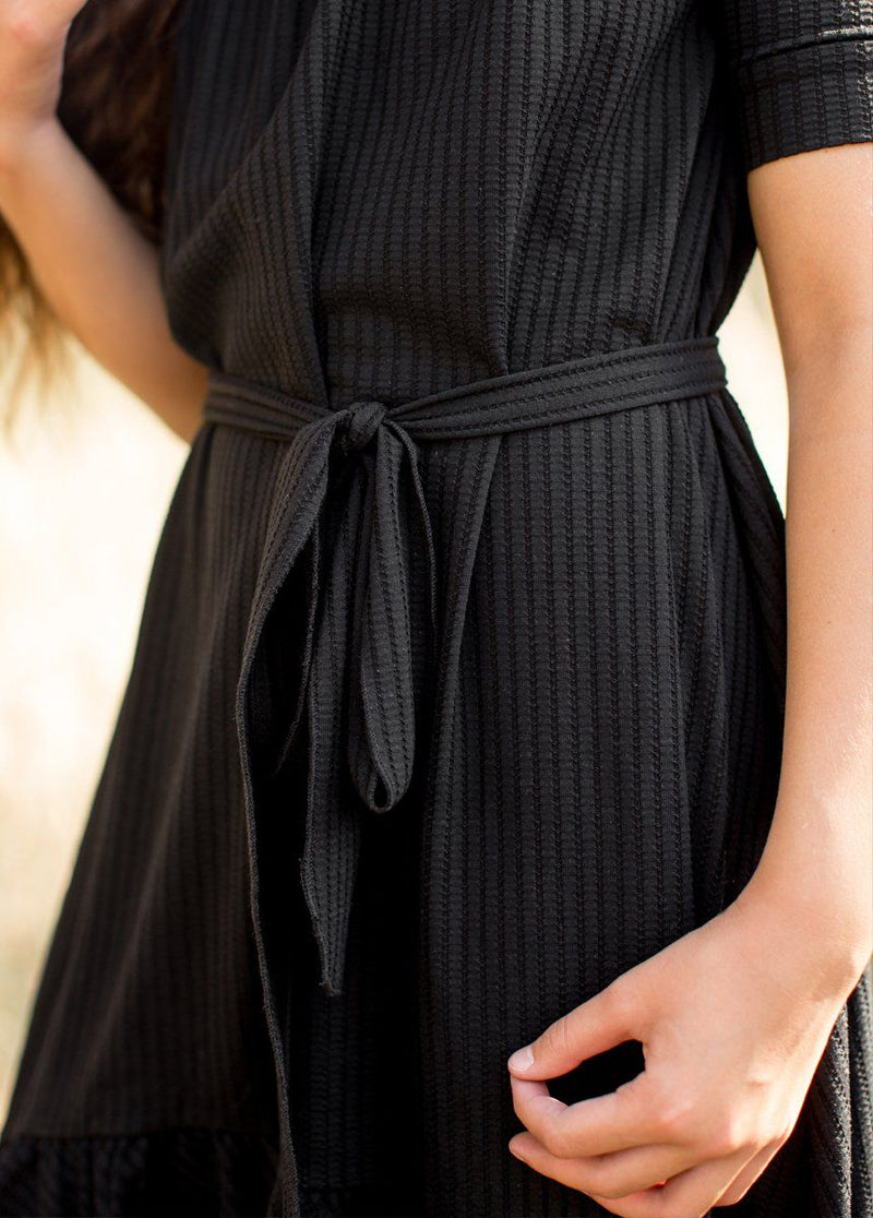 Penelope Dress in Black