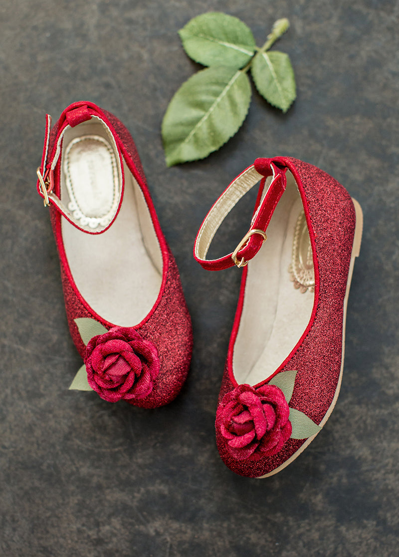 Penny Flat in Red