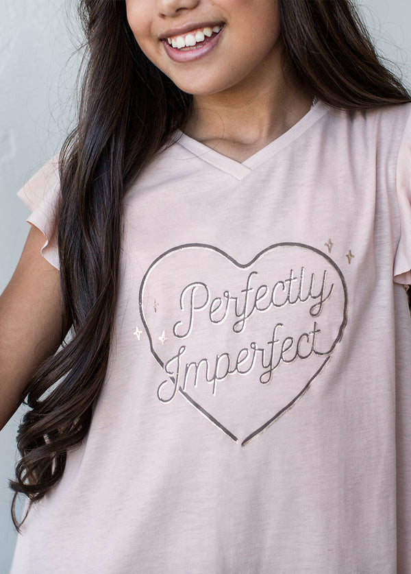 *NEW* Perfectly Imperfect Top in Blush