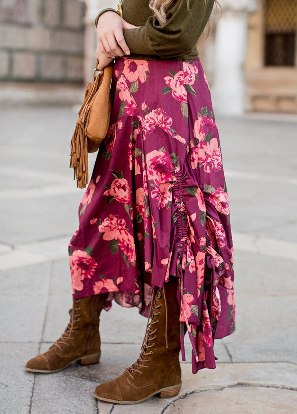 *NEW* Perri Skirt in Fall Floral