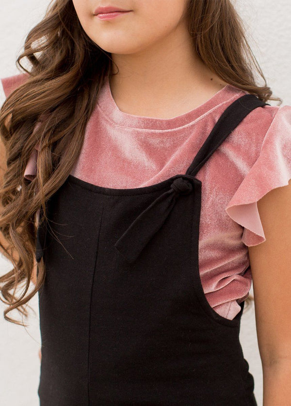 *NEW* Quincy Overalls in Black