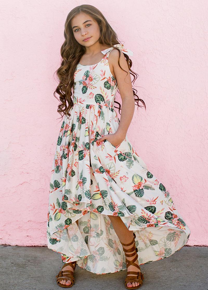 Quinn Dress in Palm Springs Floral