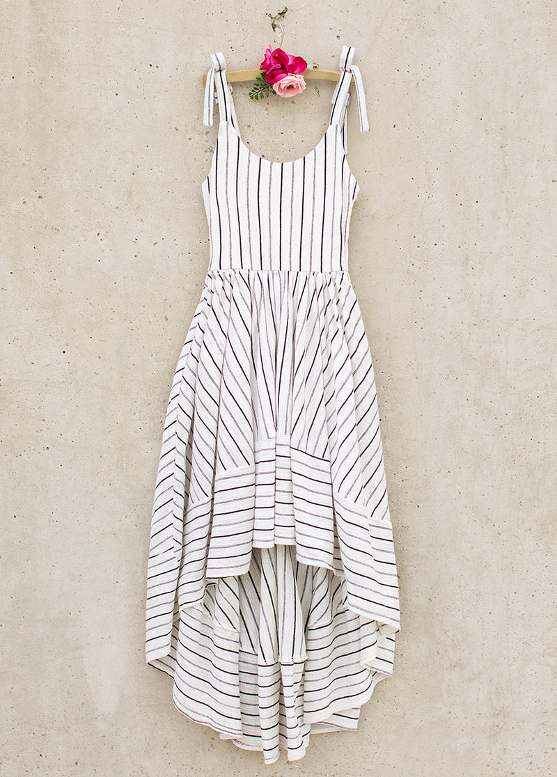 Quinn Dress in Stripe