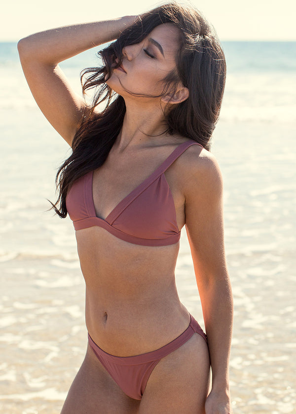 *NEW* Rania Two-Piece Swimsuit in Dusty Rose