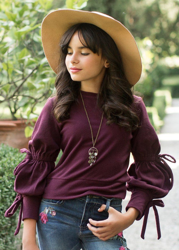*NEW* Reese Sweater in Plum