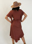 Ricarda Dress in Cedarwood