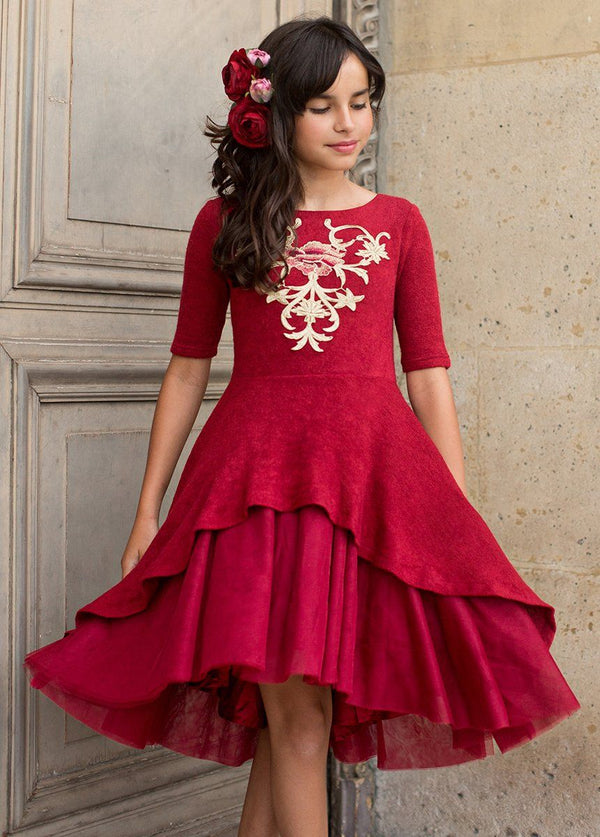 *NEW* Roselyn Dress in Scarlet