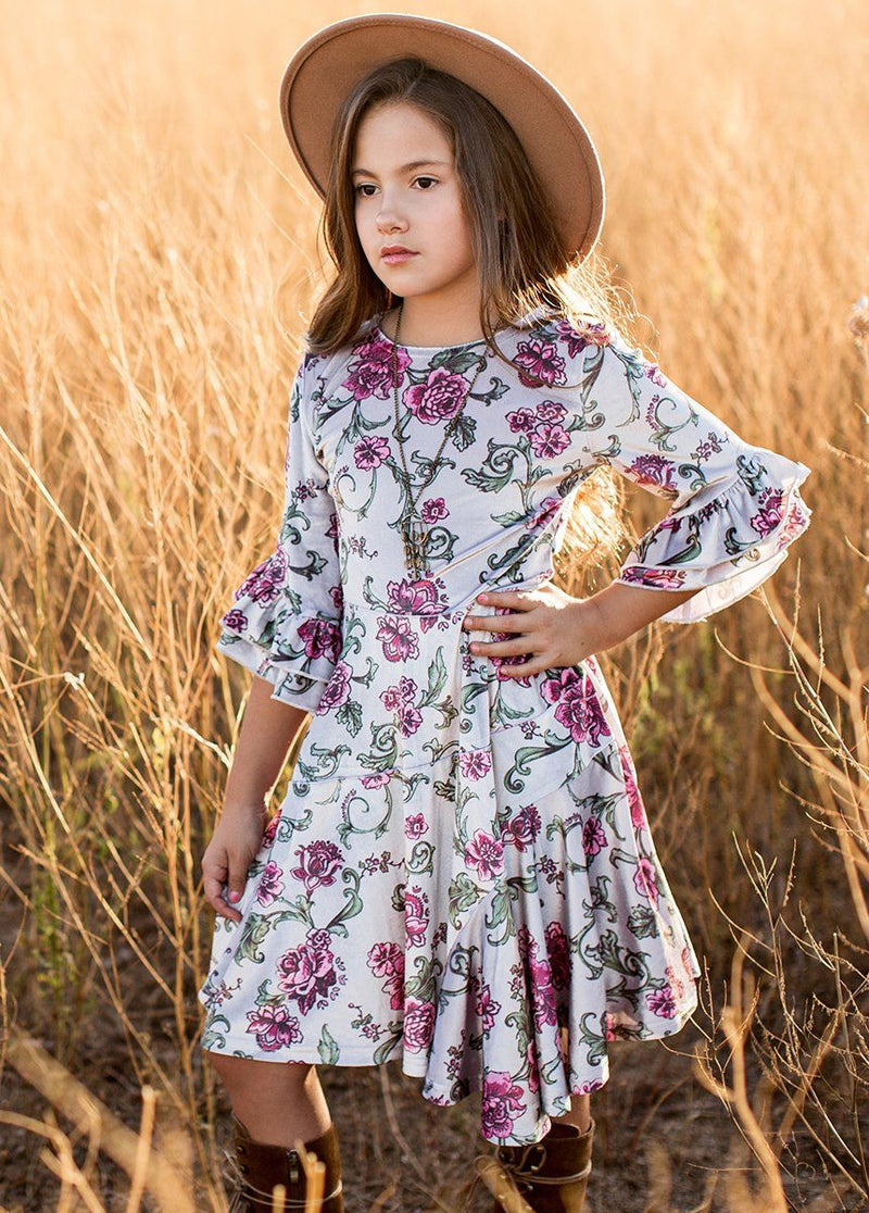 Rosemarie Dress in Baroque Floral