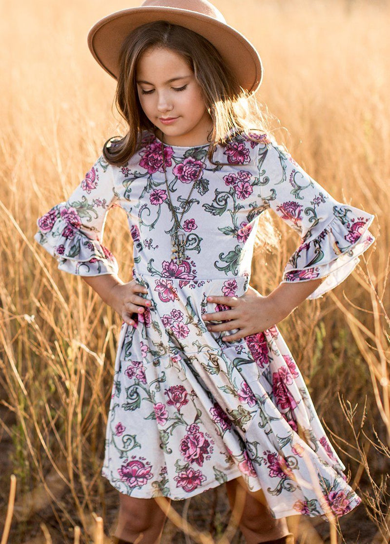 *NEW* Rosemarie Dress in Baroque Floral