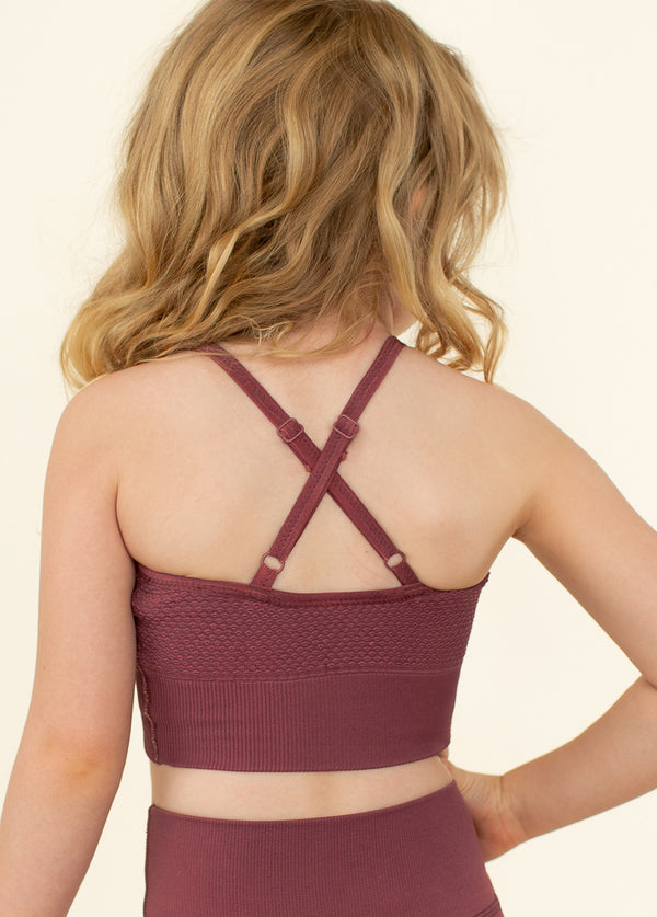 *NEW* Rosey Seamless Bra in Apple Butter