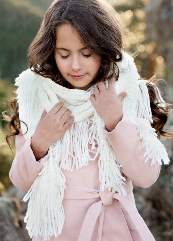 Arden Scarf in Cream