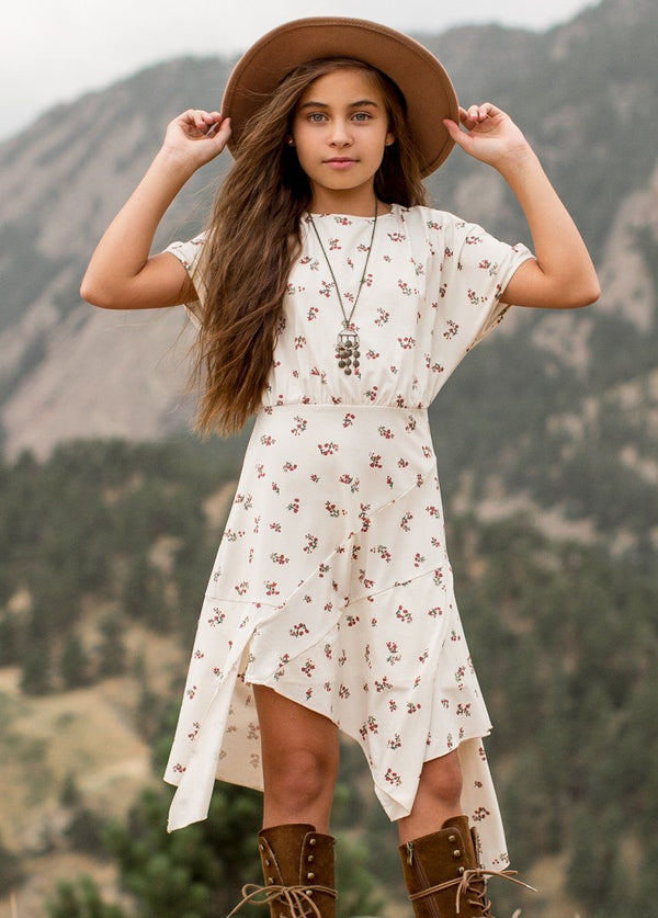 *NEW* Shay Dress in Cream Ditsy