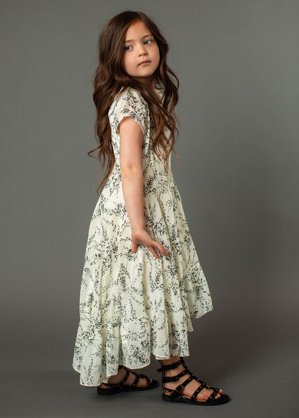 *NEW* Skye Dress in Gray Floral