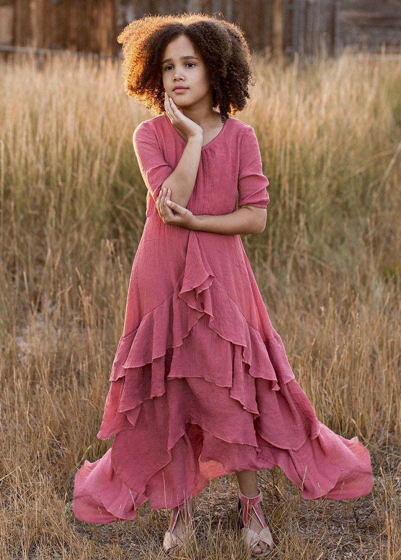 *NEW* Taliah Dress in Dusty Coral