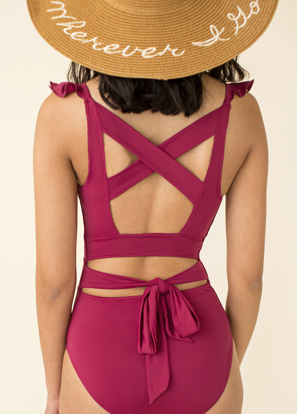 *NEW* Taryn Swimsuit in Raspberry