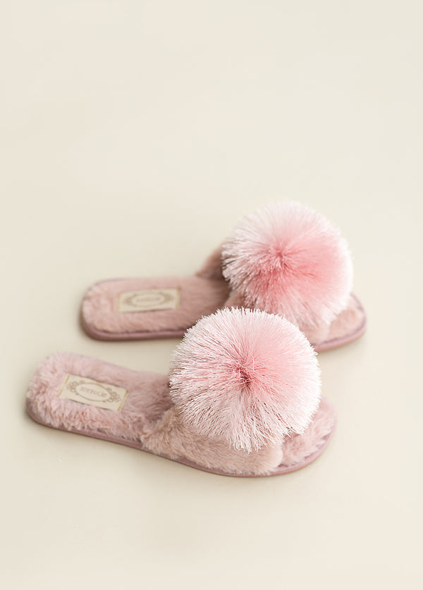 *NEW* Tia Pom Slipper in Blush