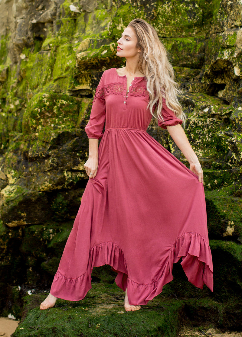 *NEW* Vanita Dress in Berry