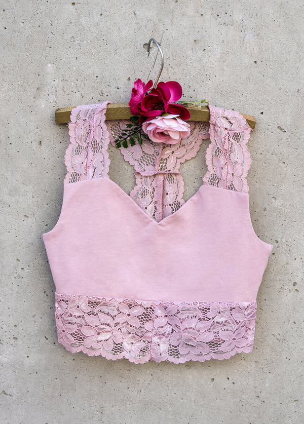Yarrow Cami in Dusty Rose