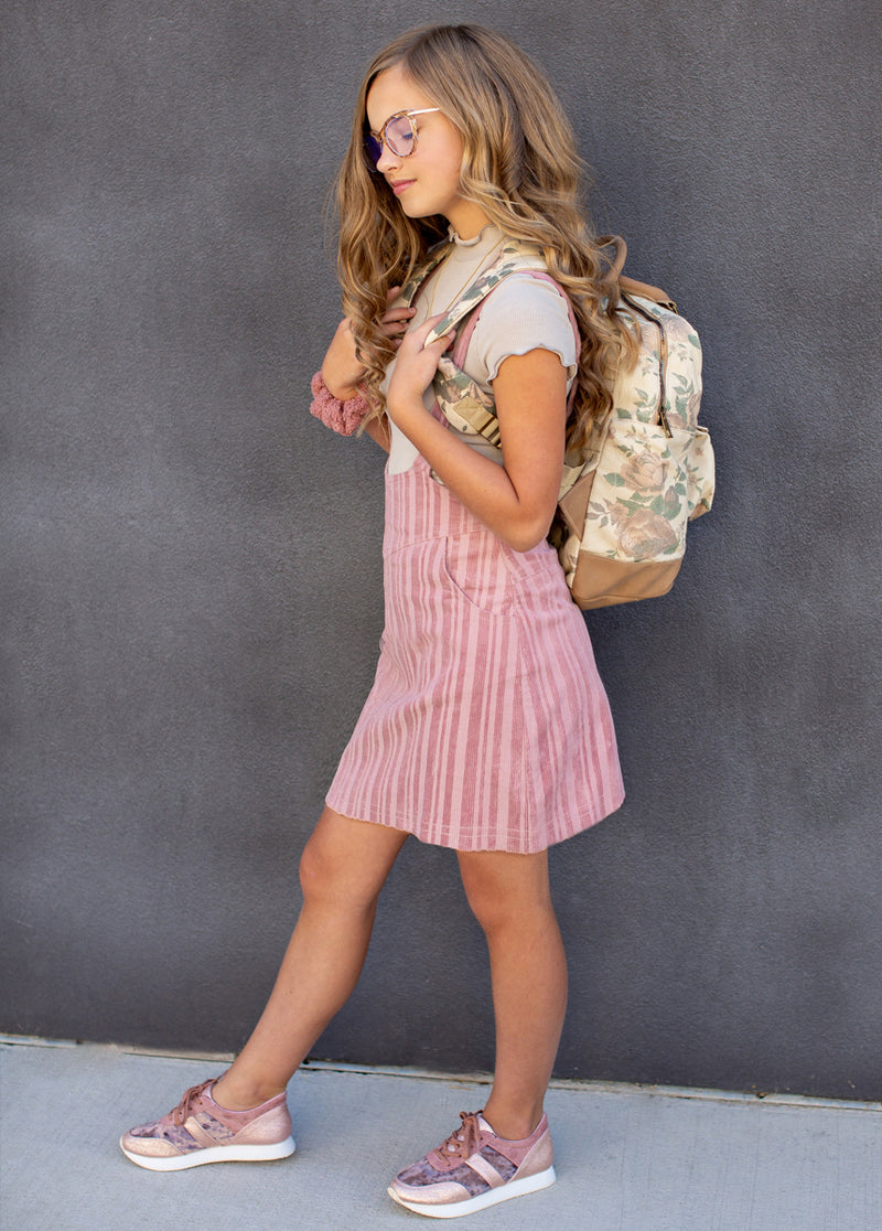 *Jeanie Backpack in Mauve Floral*