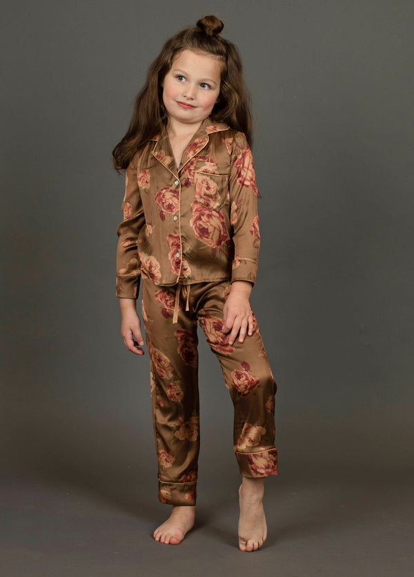 *NEW* Oaklyn Pajamas in Ochre Floral