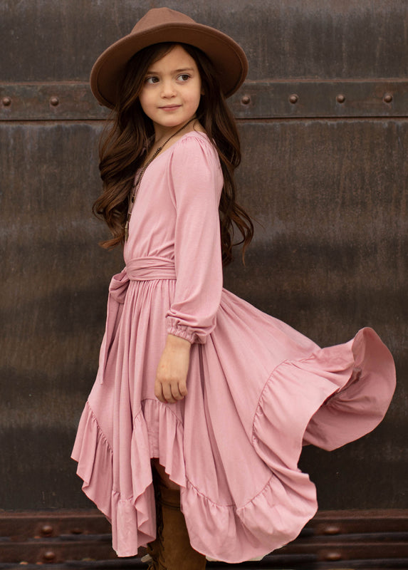 Umbrosia Dress in Dusty Mauve