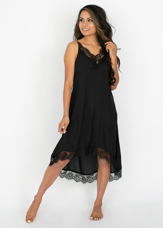 *NEW* Aileen Nightgown in Black