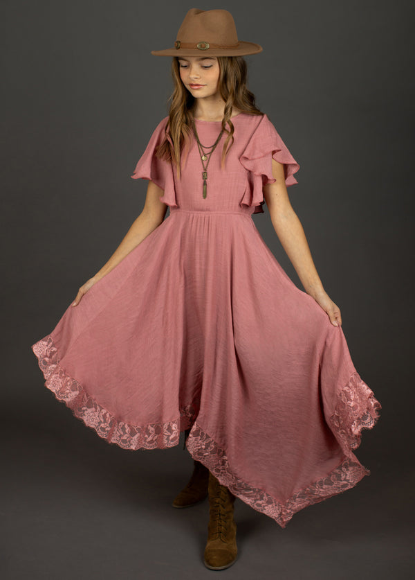 *NEW* Lakynna Dress in Rose Petal