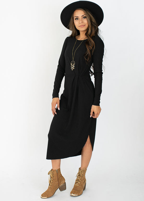 Alenka Dress in Black