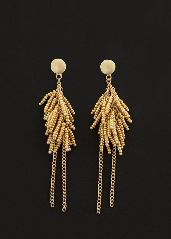 Alika Earrings in Gold
