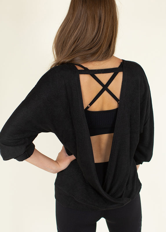 *NEW* Allison Top in Black