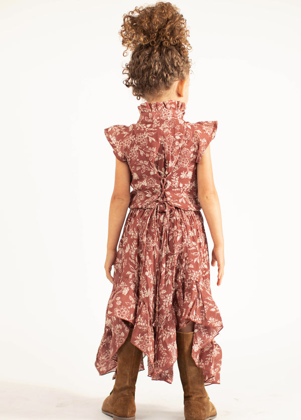 *NEW* Alta Dress in Brick Floral