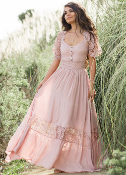*NEW* Anna Dress in Dusty Rose