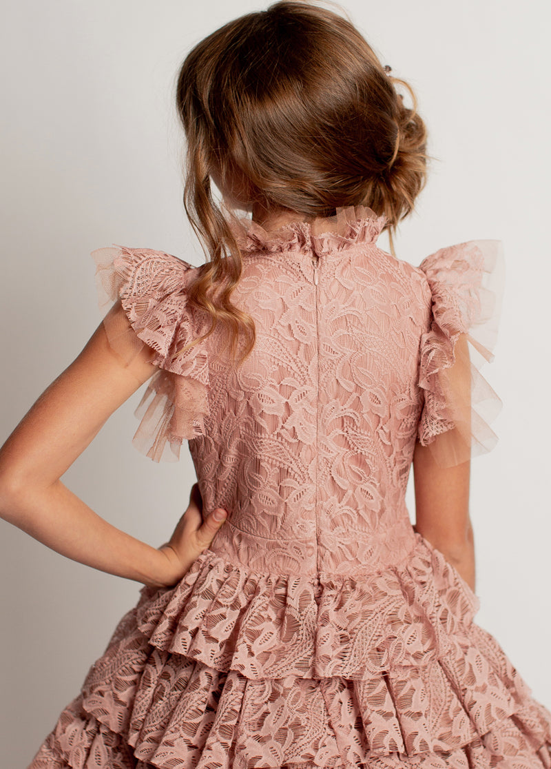 *NEW* Anouk Dress in Pink Nude