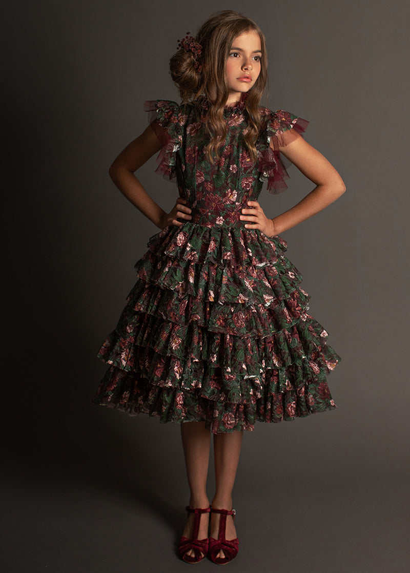 *NEW* Anouk Dress in Multi Floral