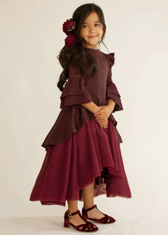 Arlo Dress in Sanguine