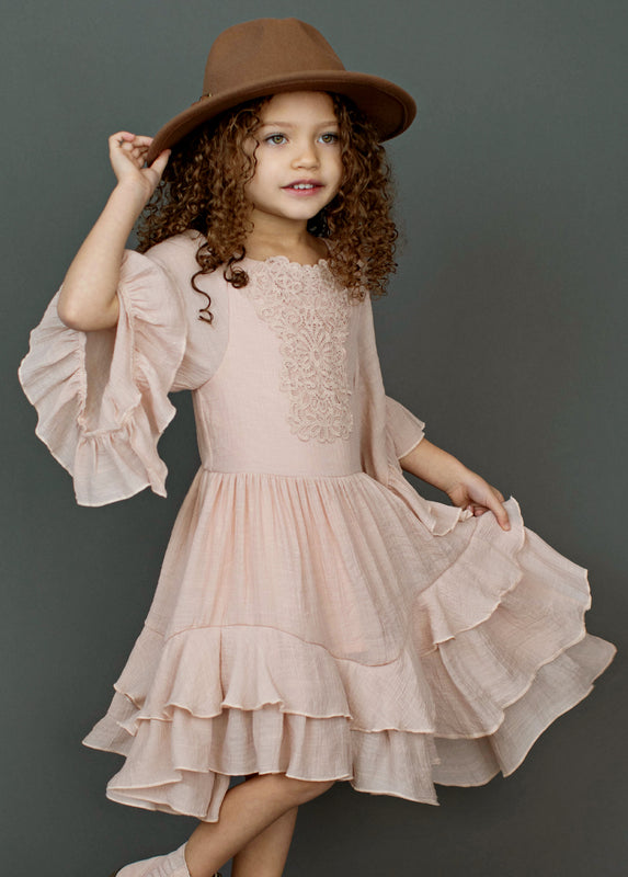 *NEW* Calyssa Dress in Rose Smoke