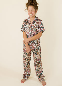 Audrina Pajamas in Jungle Floral