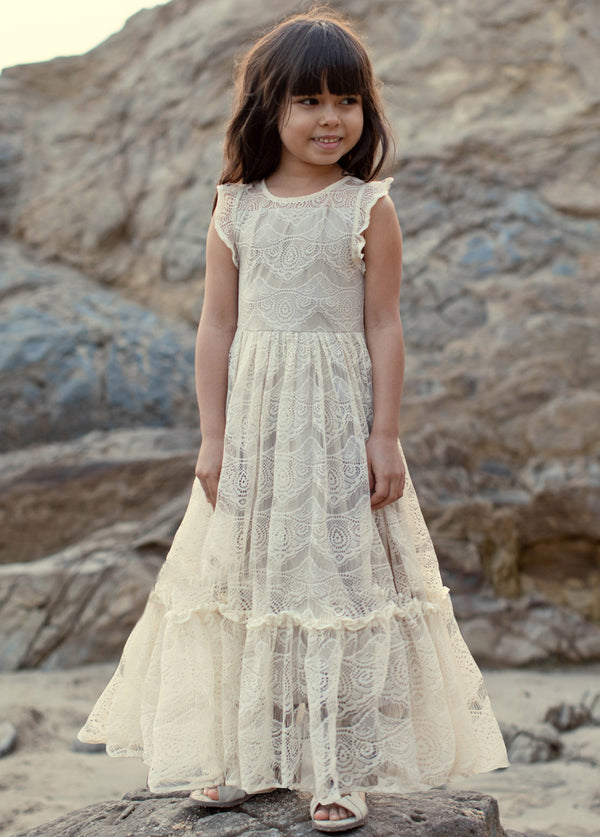*NEW* Corinna Maxi Dress in Turtledove