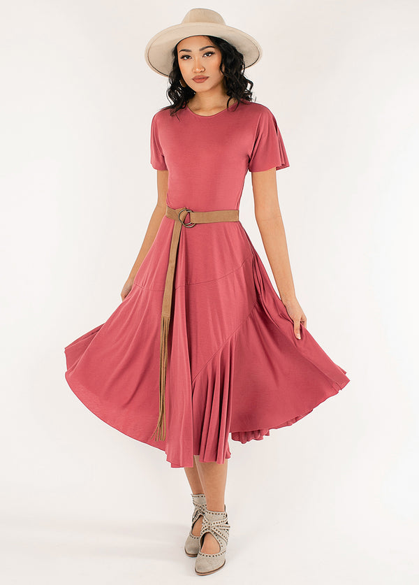 *NEW* Aviva Dress in Rose Petal