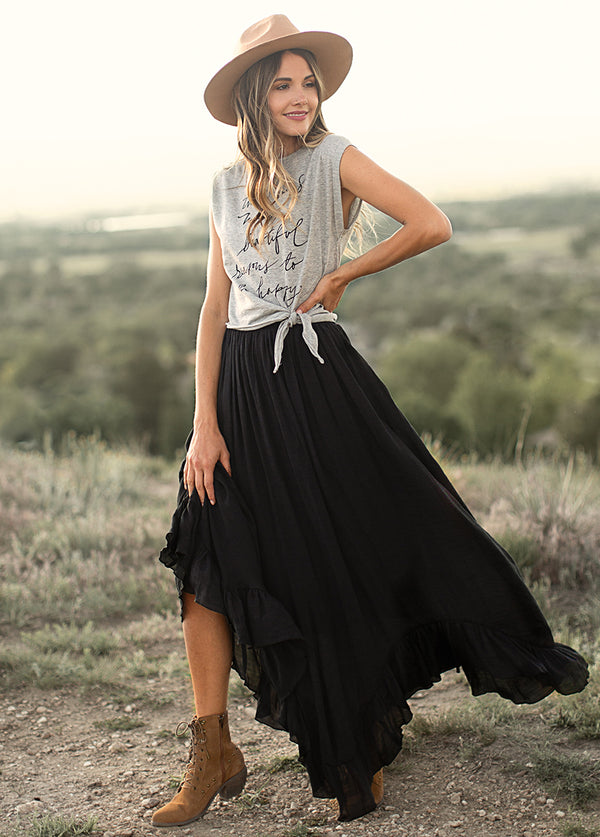 *NEW* Arely Skirt in Black