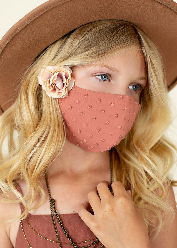 *NEW* Arminda Mask Set in Mauve & Sandy Beach