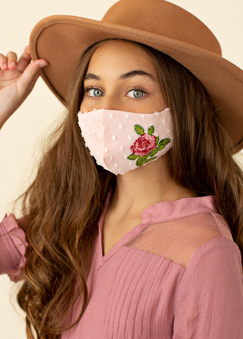 *NEW* Rosella Mask in Peach