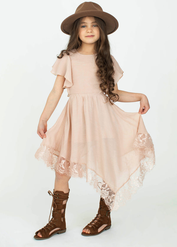 *NEW* Lakynna Dress in Rose Smoke